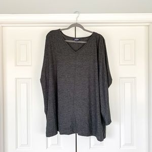 Lands End Gray Sweater 2X NWOT